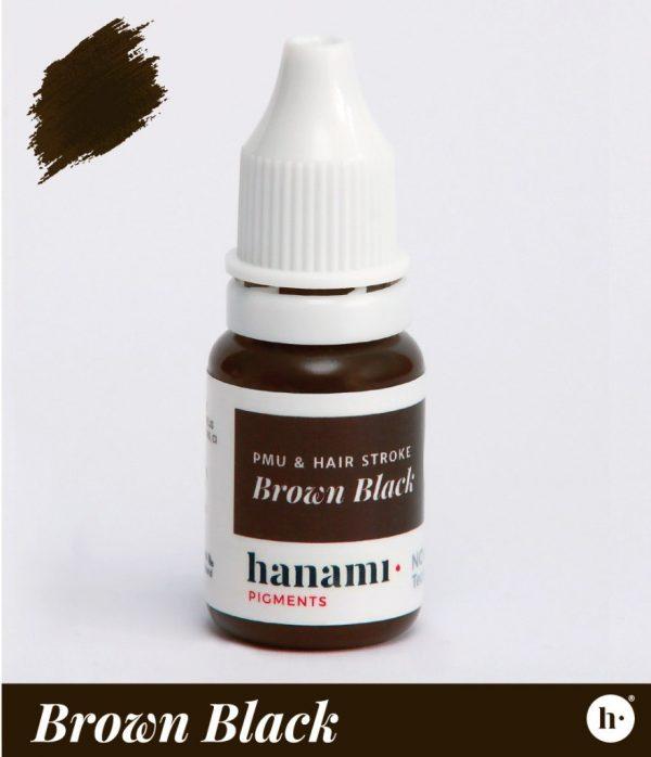 hanami Permanent Make Up Brown Black