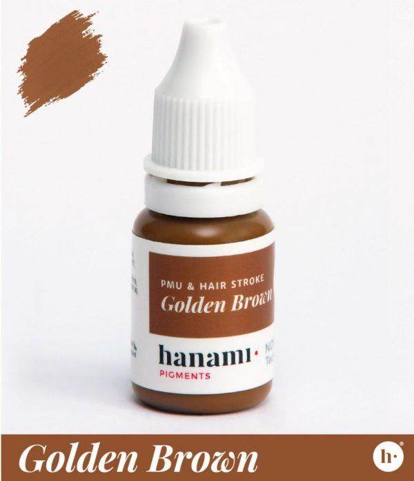 hanami Permanent Make Up Golden Brown